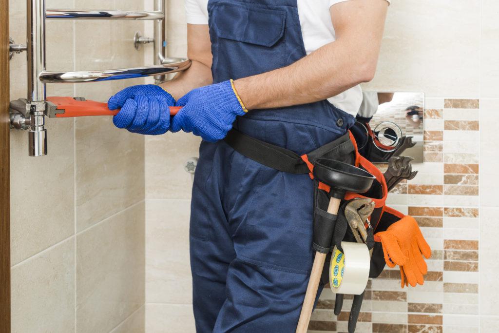 picture of plumbing tool belt